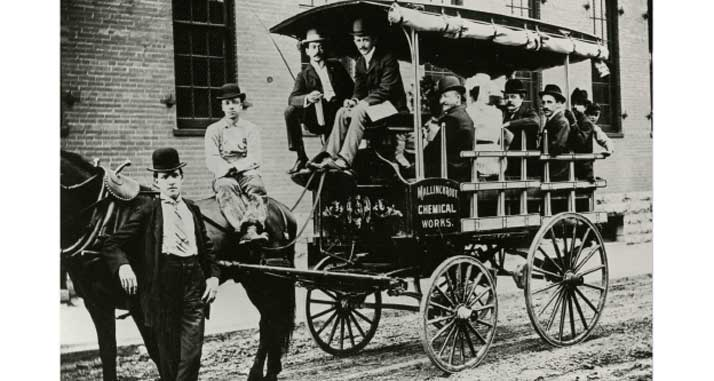 Mallinckrodt Throwback Thursday - Carriage Driver