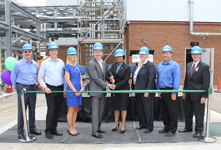 Mallinckrodt Holds Ribbon-Cutting Ceremony for New Building Expansion